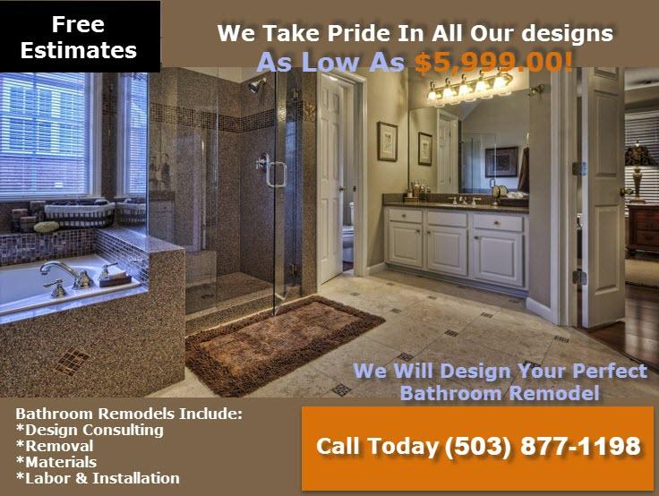 Bathroom-Remodeling Contractors Salem Oregon